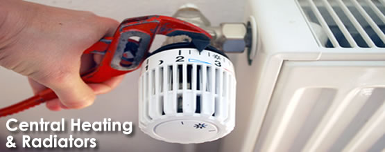 central heating plumber