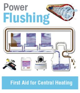 Power Flush fist aid