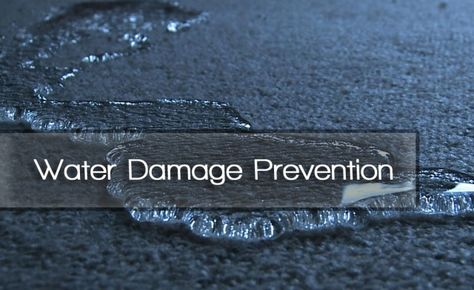 Water damage prevention